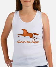 chestnut mare horse apparel Women's Tank Top