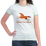 chestnut mare horse apparel Jr. Ringer T-Shirt