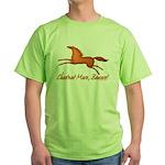 chestnut mare horse apparel Green T-Shirt