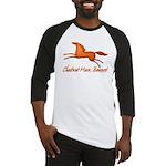 chestnut mare horse apparel Baseball Jersey