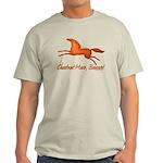 chestnut mare horse apparel Light T-Shirt