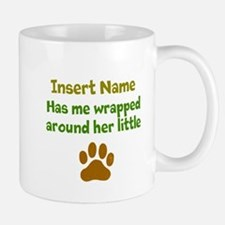 My dog wrapped around finger Mug