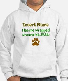 My dog wrapped around finger Jumper Hoody