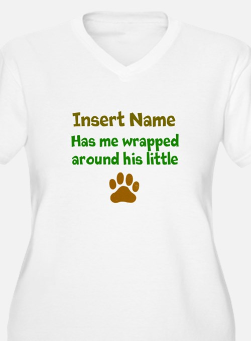 My dog wrapped around finger T-Shirt