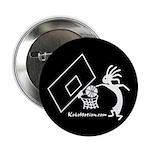 Kokopelli Basketball Player Button