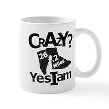 Crazy I Am Light Mug