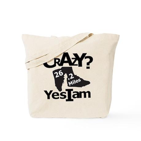 Crazy I Am Light Tote Bag