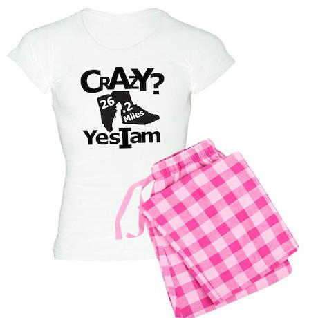 Crazy I Am Light Women's Light Pajamas