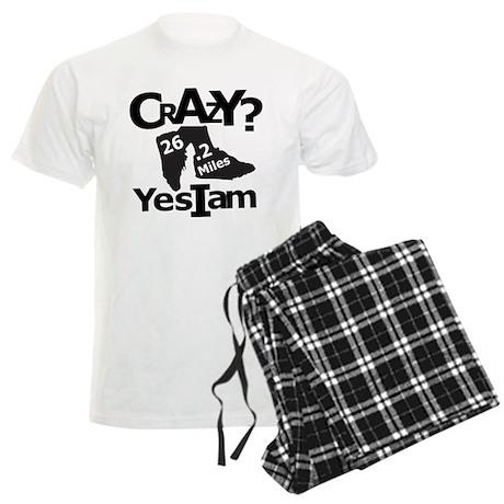 Crazy I Am Light Men's Light Pajamas