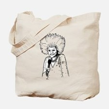 Phyllis Diller Illustration Tote Bag