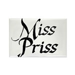 Miss Priss Rectangle Magnet (10 pack)