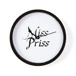 Miss Priss Wall Clock