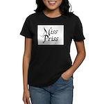 Miss Priss Women's Dark T-Shirt