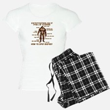 How to Spot Bigfoot - Field Guide Pajamas