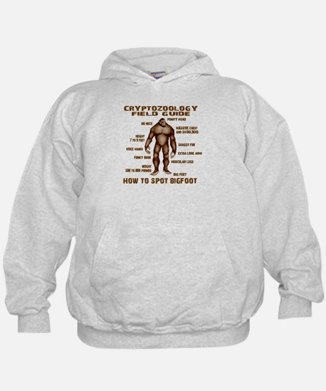 How to Spot Bigfoot - Field Guide Hoodie