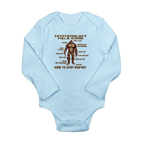 How to Spot Bigfoot - Field Guide Long Sleeve Infa