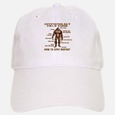 How to Spot Bigfoot - Field Guide Baseball Baseball Cap