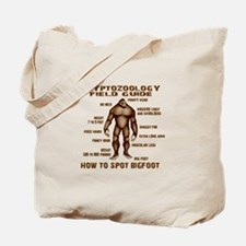 How to Spot Bigfoot - Field Guide Tote Bag