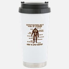 How to Spot Bigfoot - Field Guide Stainless Steel