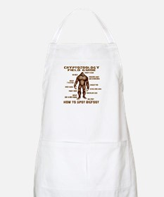 How to Spot Bigfoot - Field Guide Apron