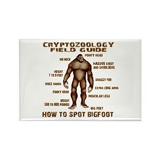 How to Spot Bigfoot - Field Guide Rectangle Magnet