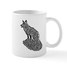 B@W Coyote Mug