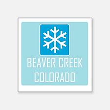 Beaver Creek Snowflake Sticker