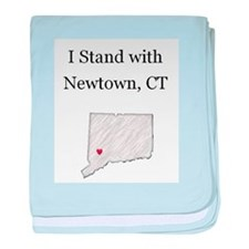 Pencil - Newtown, CT baby blanket