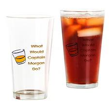 Cute Captain morgan Drinking Glass
