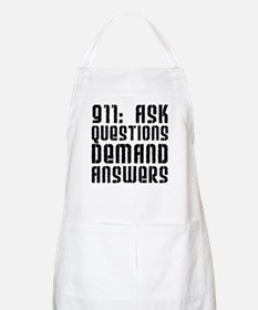 911: Demand Answers BBQ Apron