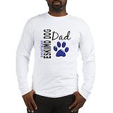 American eskimo dad Long Sleeve T-shirts