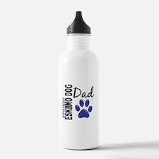 American Eskimo Dad 2 Water Bottle
