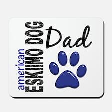 American Eskimo Dad 2 Mousepad