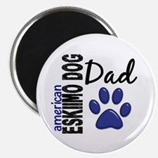 "American Eskimo Dad 2 2.25"" Magnet (100 pack)"