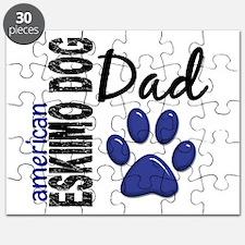 American Eskimo Dad 2 Puzzle