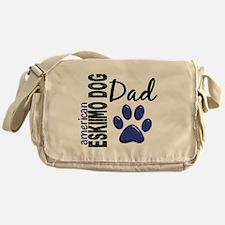 American Eskimo Dad 2 Messenger Bag