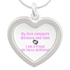 My Love Survives AF GF.png Silver Heart Necklace