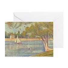 Seurat Grande Jatte Greeting Cards (Pk of 10)