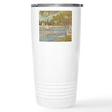 Seurat Grande Jatte Travel Coffee Mug
