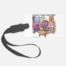 Grape Expectations Luggage Tag