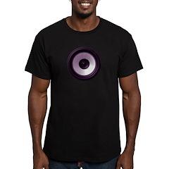 BASS (Speaker) Men's Fitted T-Shirt (dark)