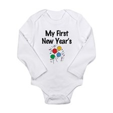 my first new years 5 Body Suit