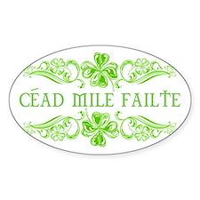 Céad Mile Fáilte Decal