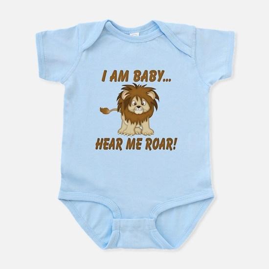 Funny Hear Me Roar Infant Bodysuit