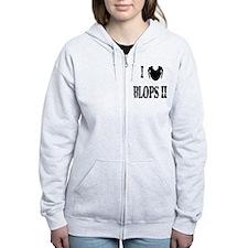 I love blops ii Zip Hoodie