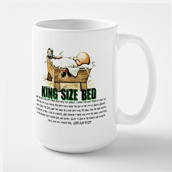 Jesus Manger Large Mug