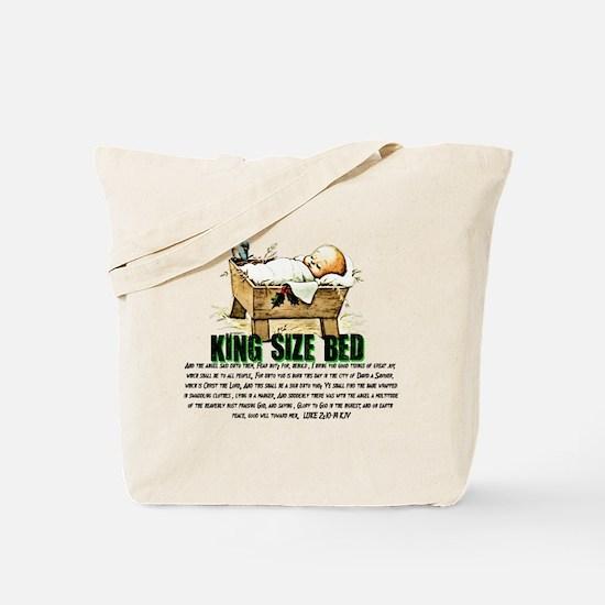 Jesus Manger Tote Bag