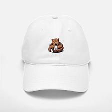 Kitty Bear Hug Baseball Baseball Cap
