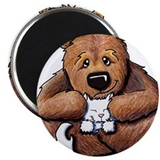 Kitty Bear Hug Magnet