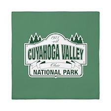Cuyahoga Valley National Park Queen Duvet
